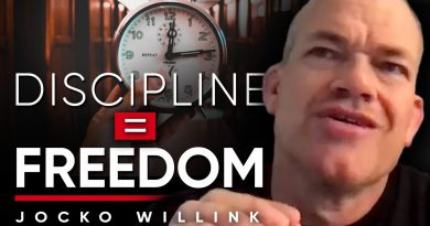 DISCIPLINE EQUALS FREEDOM: How Being More Disciplined Will Allow You To Have A Better Life
