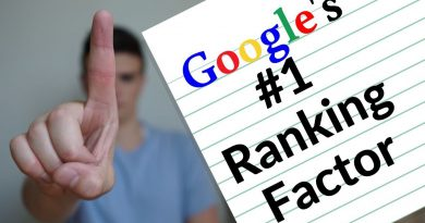 Google Just Told Us Their #1 Ranking Factor