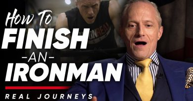 HOW TO FINISH AN IRONMAN RACE: The Best Way To Train For An Endurance Race | London Real Journeys