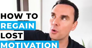 How to REGAIN Lost Motivation