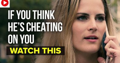If You Think He's Cheating on You, Watch This