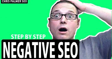 Negative SEO Tutorial 2020