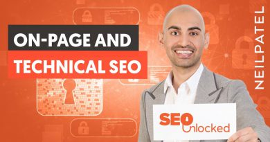 On-page and technical SEO Part 1 - SEO Unlocked - Free SEO Course with Neil Patel