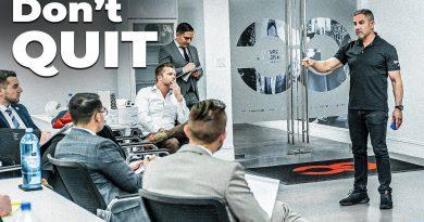 Sales Through a Recession, Bankruptcies & Fear -Grant Cardone Trains Sales Team LIVE!
