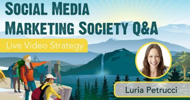 Social Media Marketing Society Q&A with Luria Petrucci