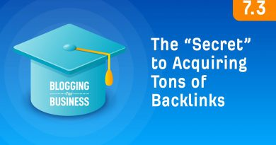 "The ""Secret"" to Acquiring Tons of Backlinks [7.3]"