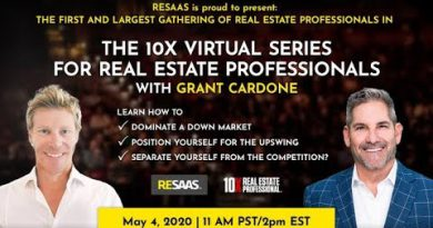 The 10X Virtual Series with Grant Cardone & RESAAS