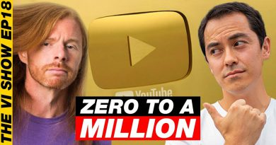 What it Takes to Get 1 Million Subscribers - JP Sears! #ViShow 18