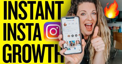 4 THINGS I DO TO GROW ON INSTAGRAM EVERY DAY
