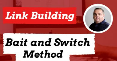 Bait and Switch Link Building Method, How to create links to content no-one will link too.