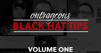 Best Black Hat SEO Tips & Tricks Volume One | Compilation of some of the best Black Hat Tips in SEO