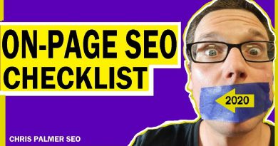 On-Page SEO Checklist in 2020