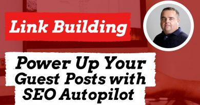 Power up your Guest Posts with Seo Autopilot