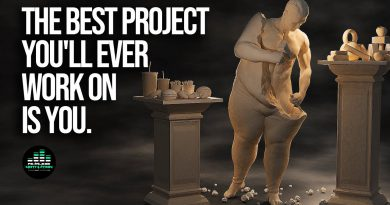 The Best Project You'll Ever Work on is YOU. (POWERFUL MOTIVATIONAL VIDEO)