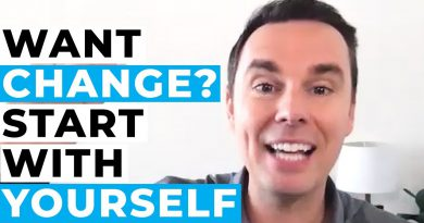Want Change? Start with Yourself