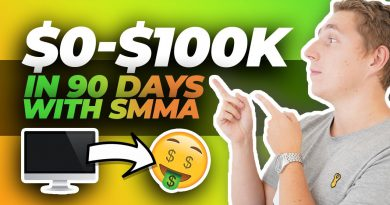 $0 to $100,000 in 90 Days - How To Start A SMMA (Full Blueprint)