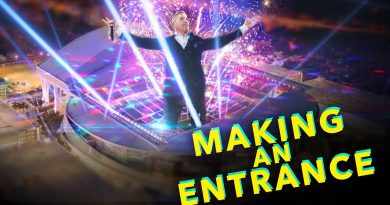 How Grant Cardone Enters a Stadium - Make an Entrance