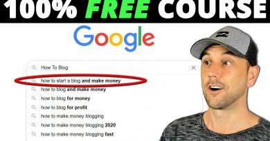How To Blog & Drive Massive Traffic - Free Course