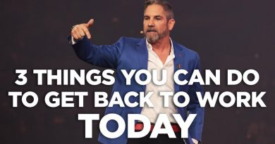 3 Things You Can Do to Get Back to Work Today - Cardone Zone