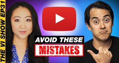 7 Mistakes to Avoid When Starting Your Youtube Channel - Jennifer of Sewing Report #VIShow 31