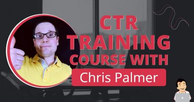 Chris Palmer SEOs CTR Training Course