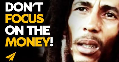 Don't Focus on the MONEY | Bob Marley | #Entspresso
