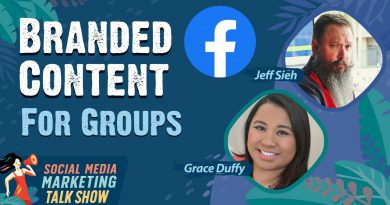 Facebook Branded Content for Groups