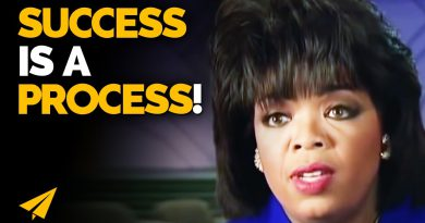 How I BUILT Myself for SUCCESS! | Oprah Winfrey | #Entspresso