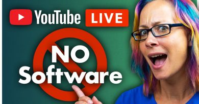 How to Go Live on YouTube from a Computer Without Software