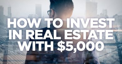 How to Invest in Real Estate with $5000 - Real Estate Investing