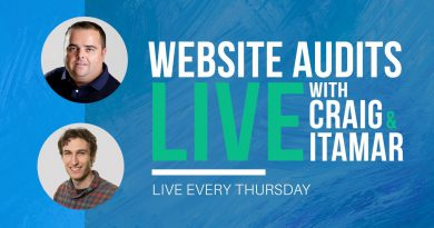 Live site Audits with Craig Campbell SEO & Itamar Blauer