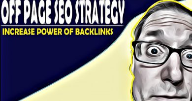 Off Page SEO POWERFUL SEO Backlinks Strategy
