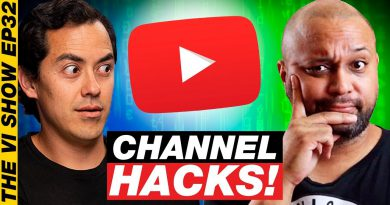 Simple YouTube Channel HACKS for Getting More Views #VIShow 32