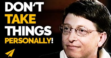 """Don't TAKE Things PERSONALLY!"" 