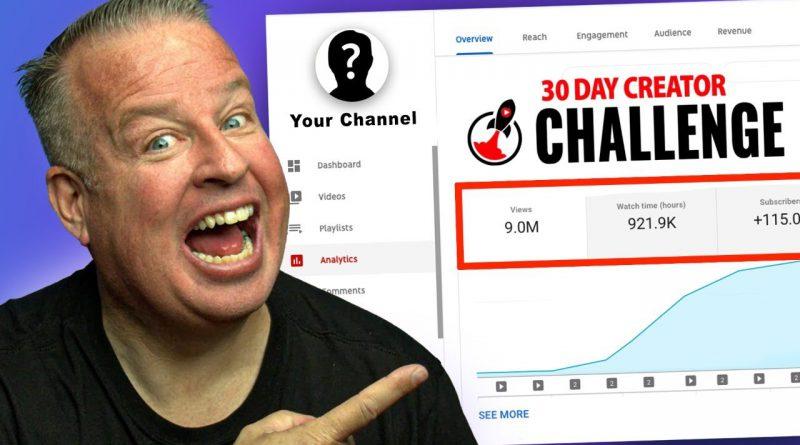 30 Day Creator Challenge Coaching Call