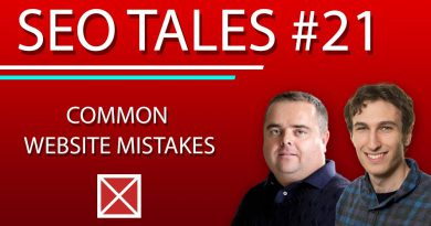 Common Website Mistakes | SEO Tales | Episode 21