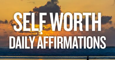 Daily Self Esteem & Self Worth Affirmations to BOOST CONFIDENCE!