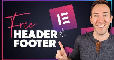 Elementor Header Tutorial: 100% FREE Method