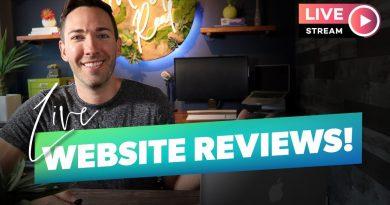 Get YOUR Website Reviewed!