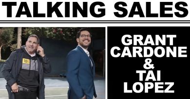 Grant Cardone & Tai Lopez Talking About Sales