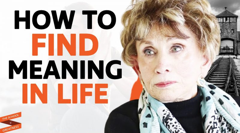Holocaust Survivor Shares INSPIRING STORY On How To FIND MEANING IN LIFE   Edith Eger & Lewis Howes