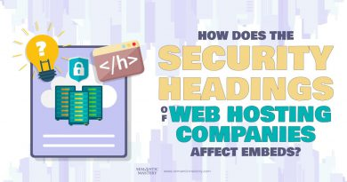 How Does The Security Headings Of Web Hosting Companies Affect Embeds