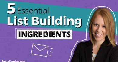 How to Build an Email List: 5 Essential List Building Ingredients & Why You Need a Lead Magnet
