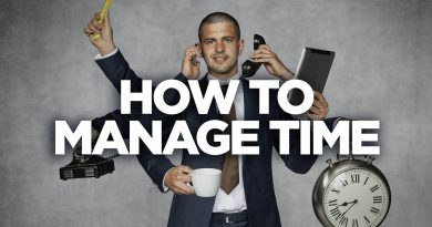 How to Manage Time: The G&E Show