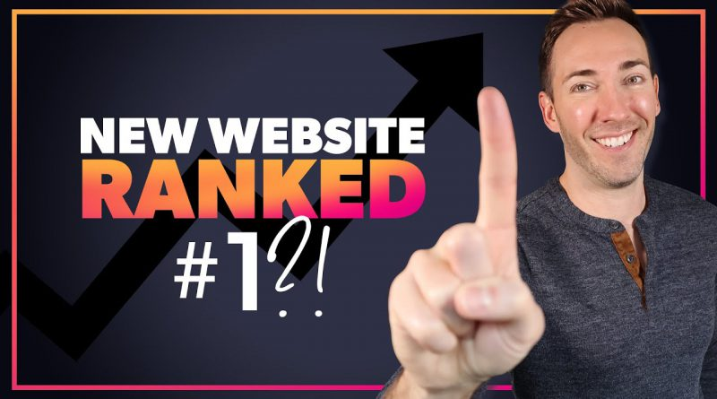How to Rank a New Website (PERFECT for Small or Local Businesses)
