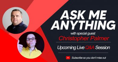 Live Q&A with Chris Palmer Today