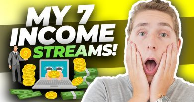 MY 7 STREAMS OF INCOME: How I Make Money Online (Passive)