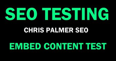 SEO Testing • Search Engine Optimization Test