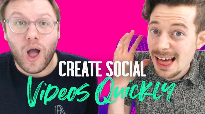 Social Media Video Marketing Made Super Quick & Easy! 💥