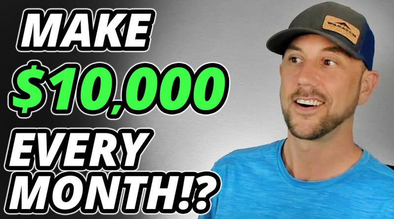 The Shockingly Simple Math Behind Earning $10,000 Per Month